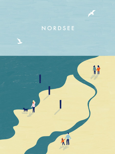Nordsee Poster