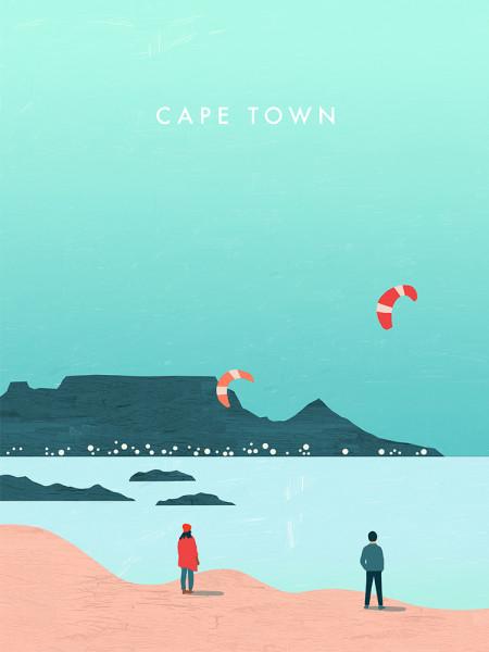 Kapstadt Poster