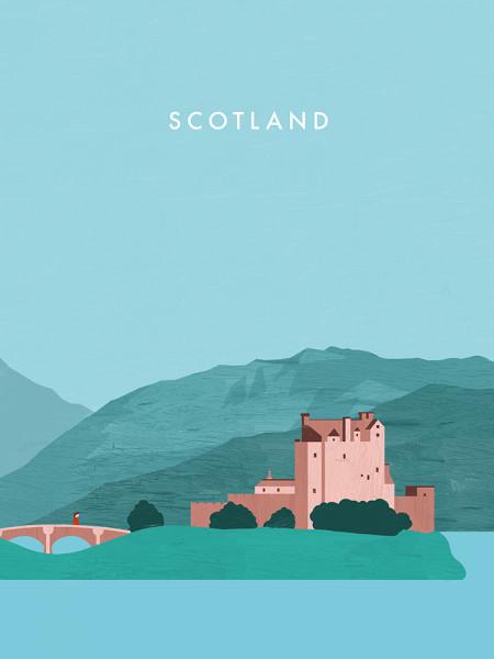 Schottland Poster