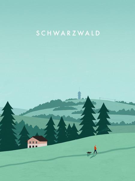 Schwarzwald Poster