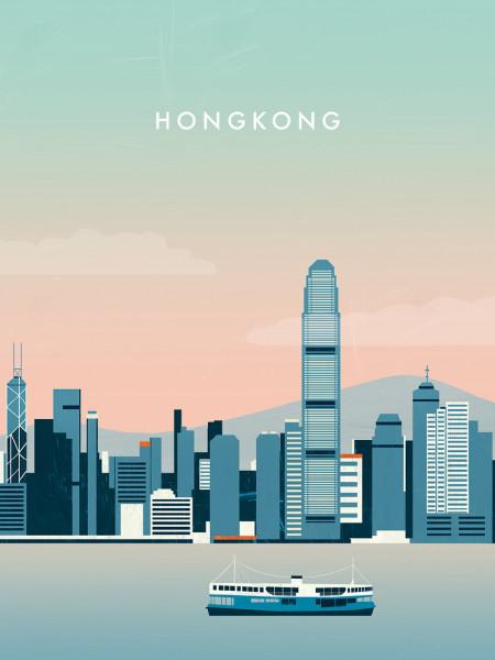 Hongkong Poster