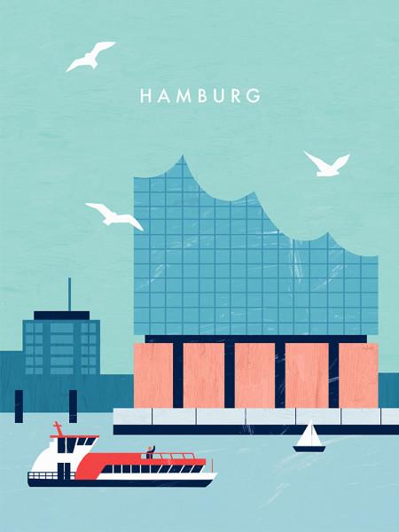 Hamburg II Poster