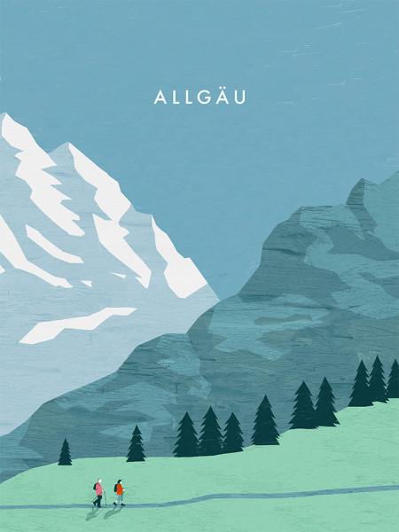 Allgäu Poster