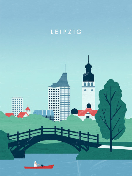 Leipzig Poster